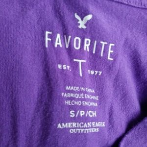 American Eagle Outfitters Tops - Cute American Eagle T Shirt Purple